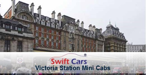 Victoria Station minicabs