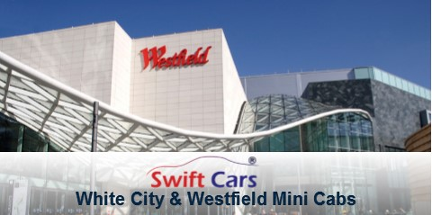 White City minicabs and Shepherds Bush minicabs